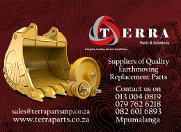 Terra Parts and Solutions – Suppliers of Earthmoving replacement parts. | Nelspruit, Mpumalanga