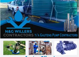 N&G WILLERS CONTRACTORS t/a Gauteng Pump Contractors | Pretoria, Gauteng