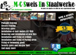 M C Sweis en Staalwerke | Brits, Hartbeespoort, Rustenburg, North West