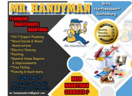 Mr. Handyman | Brits, Hartbeespoort, Rustenburg, North West