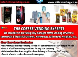 Elite Vending – Vending Machine Sales & Service | Pretoria, Gauteng
