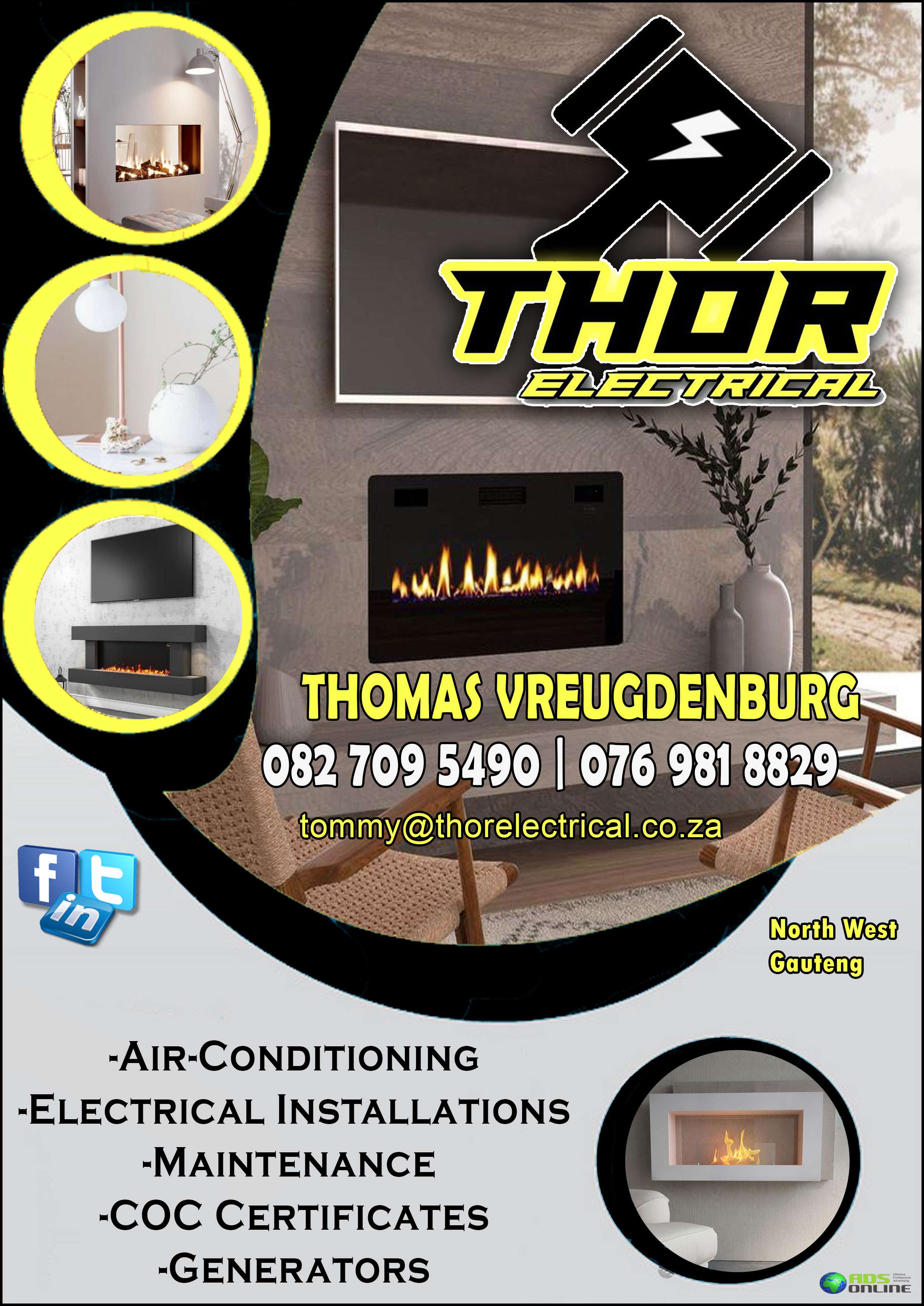 Thor Electrical | North West & Gauteng
