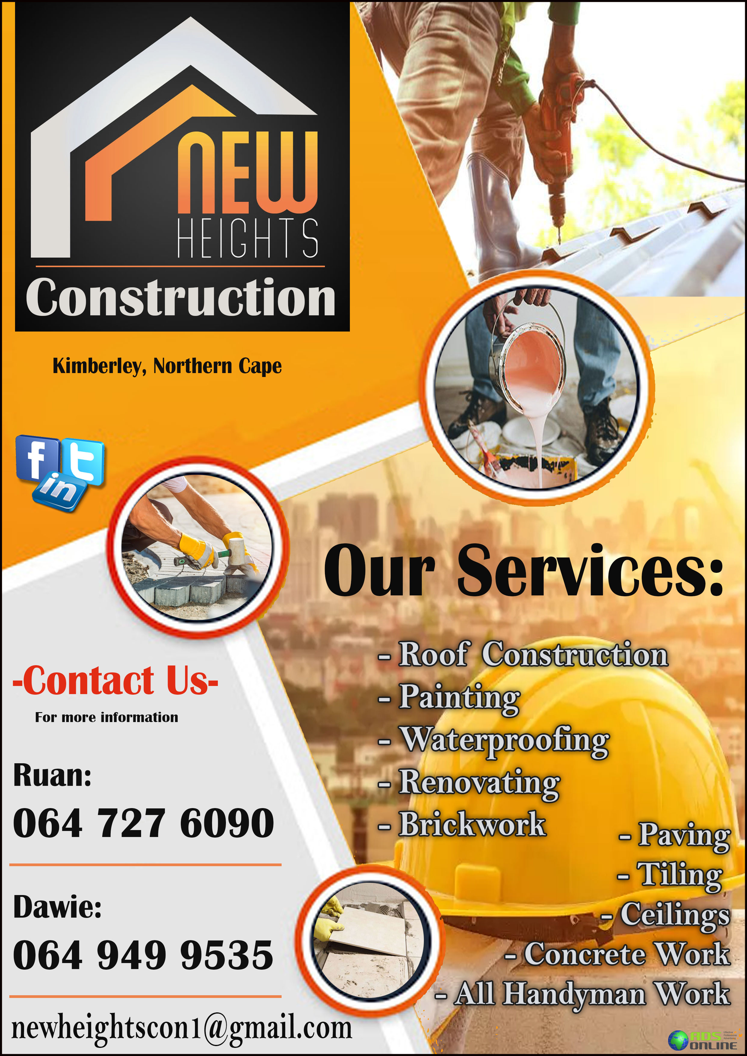 New Heights Construction | Kimberley, Northern Cape