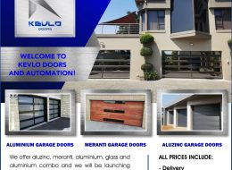Kevlo Doors and automation | Gauteng, Limpopo, North-West