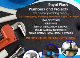 Royal Flush Plumbers | Potchefstroom, Klerksdorp, Stilfontein, Orkney, Fochville, Carletonville, Parys, North-West