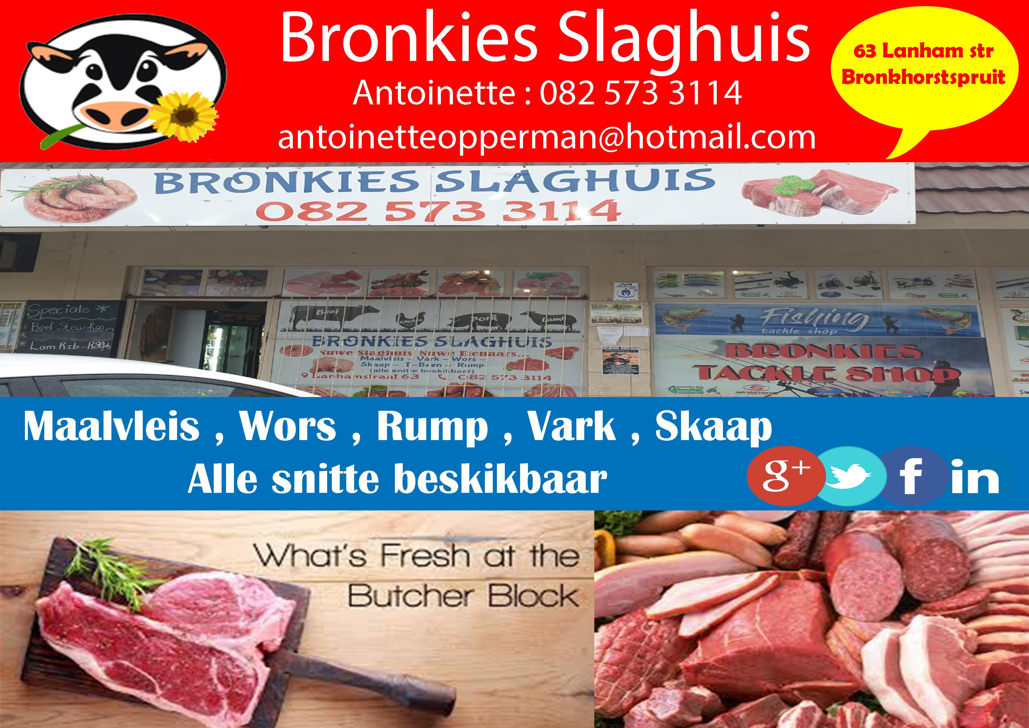 Bronkies Slaghuis | Bronkhorstspruit, Gauteng