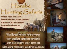 Horabe Hunting Safaris   Grootfontein, Nambia