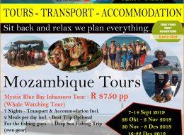 Sunset Safaris – Tours, Transport, Accommodation | Mozambique