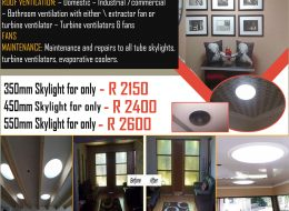 easy SKYLIGHTS & Turbine Ventilators | Pretoria, Gauteng