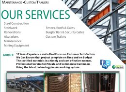 Steel Ideals – Steel Construction • Steelwork &  Maintenance •Custom Trailers | Pretoria, Gauteng
